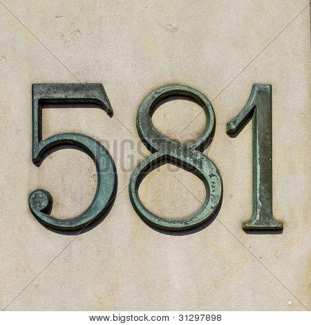 Nr 581