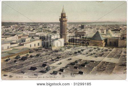 Tunisian Postcard