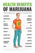 Healthy Benefits Of Using Marijuana And Cannabis. poster