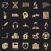 New Discoveries Icons Set. Simple Set Of 25 New Discoveries Icons For Web For Any Design poster