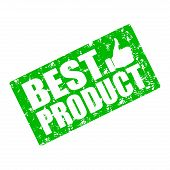 Best Product Stamp Rubber Sketch. Vector Consumer Reports, Stamp Best Quality, Rubber Seal Guarantee poster