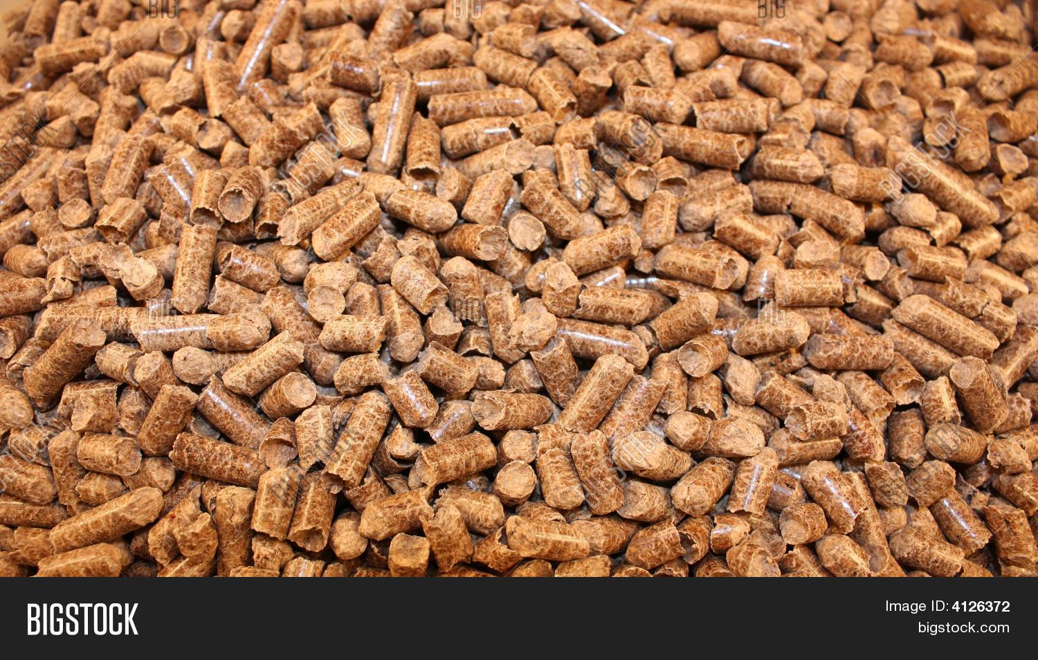 Wood Pellets Are Used For What ~ Hardwood pellets image photo bigstock