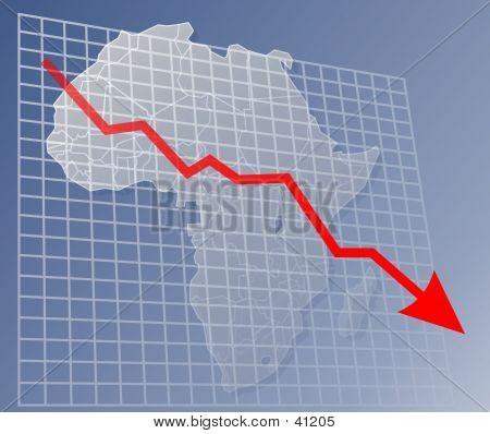 Chart Africa Down