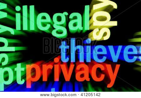 Illegal Privacy