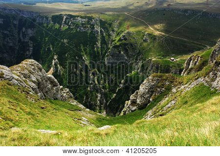 Caraiman Valley in Bucegi Mountains, Romania, Europe