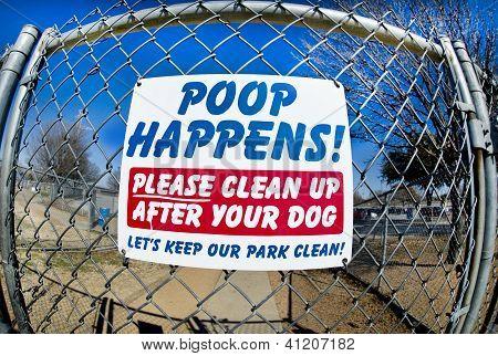 Poop Happens.