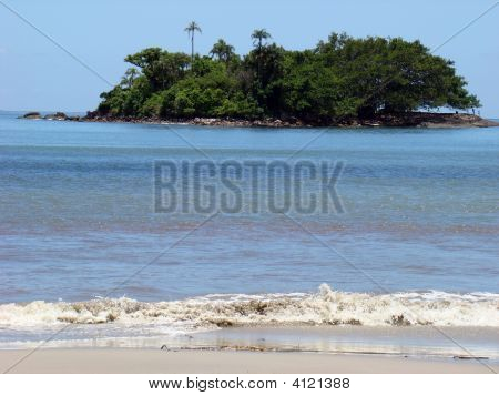 Island And The Beach