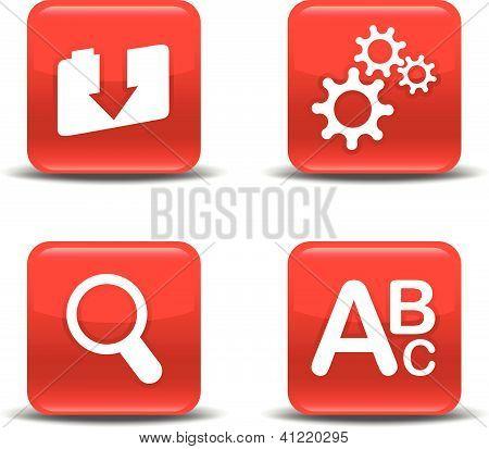 Icon-Set Farbe