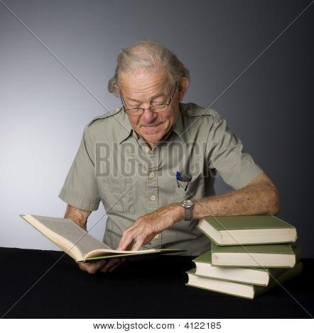 Mature Male Scholar