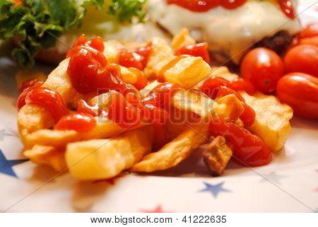 Side of Fries with Catsup