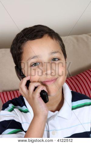 Boy On Phone