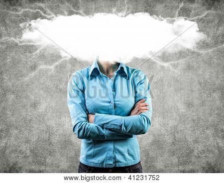 Cloud On A Head