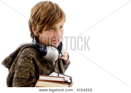 Portrait Of Schoolboy With Headset