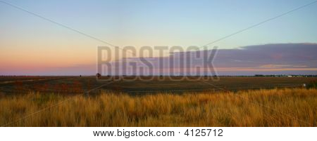 Outback Farm Sunrise