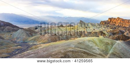 Zabriskie Point Panorama (high Res), Death Valley National Park, California