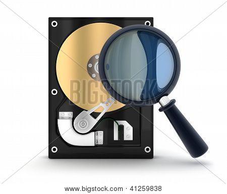 Harddisk And Lens