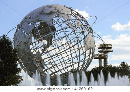 1964 New York World's Fair Unisphere in Flushing Meadows Park