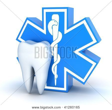 Tooth And Star Of Life