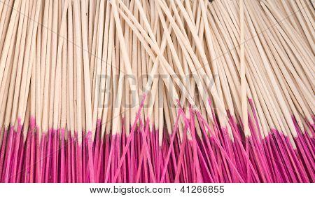 Joss Sticks As Background