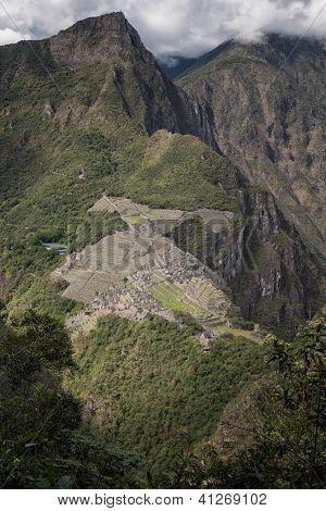 Machu Picchu Inca ruins, Sacred Valley, Peru