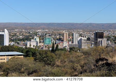 Windhoek Cityscape