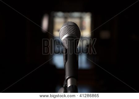 Microphone Stands Alone