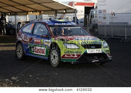 Bp Ford Team At Wales Rally Gb 2008