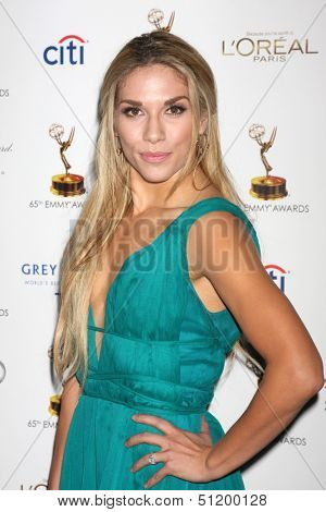 LOS ANGELES - SEP 20:  Allison Holker at the Emmys Performers Nominee Reception at  Pacific Design Center on September 20, 2013 in West Hollywood, CA