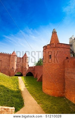 Barbican And Fortification In Warsaw
