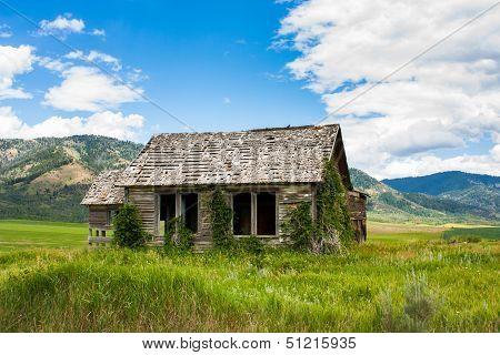 Abandoned Idaho Farmhouse