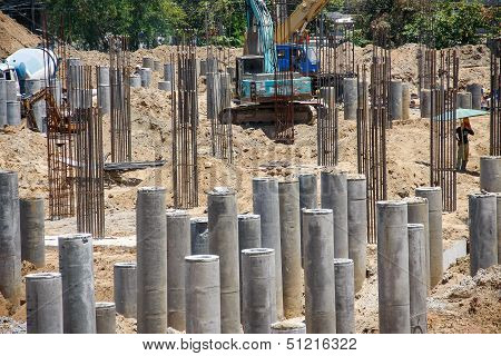 Foundation Concrete Pile