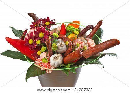 nontraditional bouquet