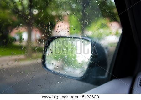 Rain Through The Car Window