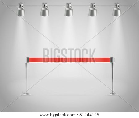 Presentation vector template