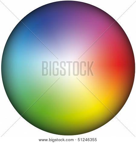 Color Wheel Brightness