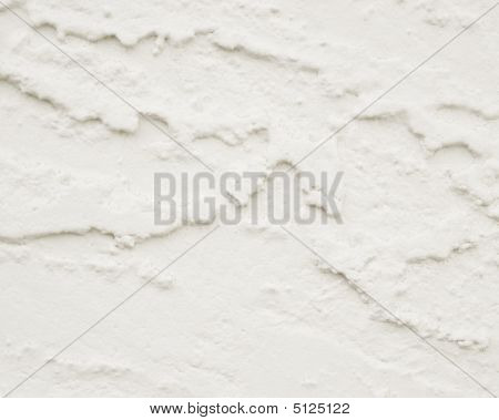 White Stucco Background