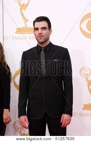 LOS ANGELES - SEP 22:  Zachary Quinto at the  at Nokia Theater on September 22, 2013 in Los Angeles, CA