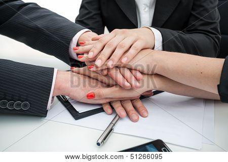 Business Team- Hands