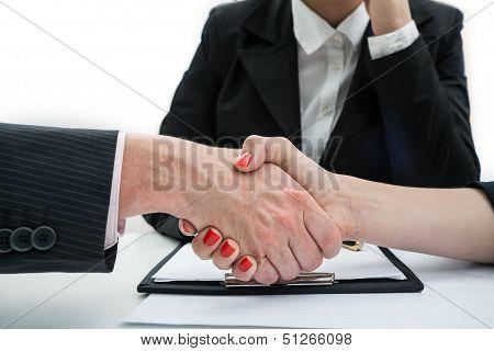Deal, Business Handshake