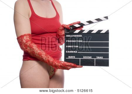 Sexy Movie Clapper Board