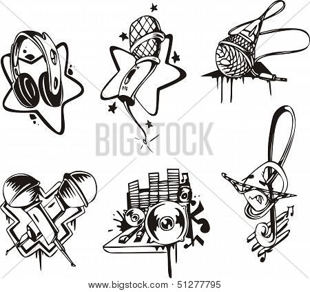 Musical Emblems And Symbols