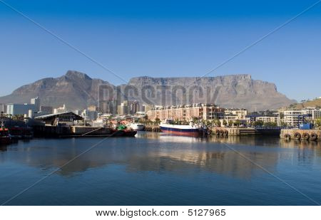 Table Mountain Reflection