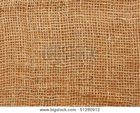 Close Up Of A Jute Bag
