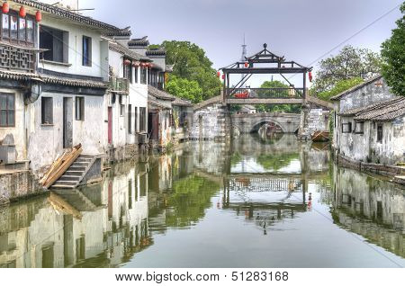 The Main Bridge Of Tongli
