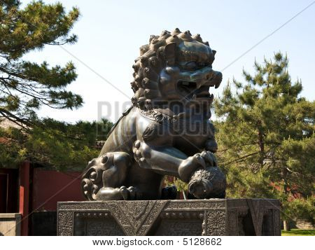 Chinese Bronze Lion