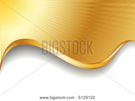 Vector Gold Background.