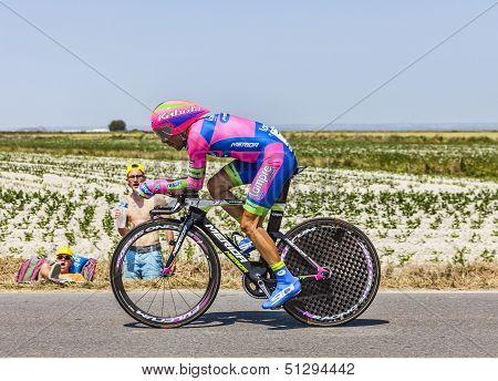 The Cyclist Manuele Mori