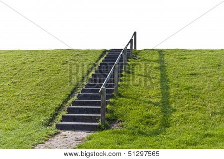Simple Staircase In Nature