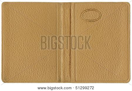 Leather Cover Beige