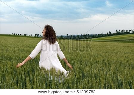 Striding Through The Fields Of Glory